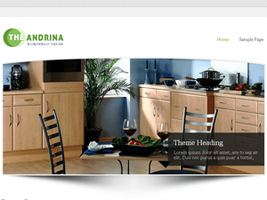 Andrina Lite free wordpress theme