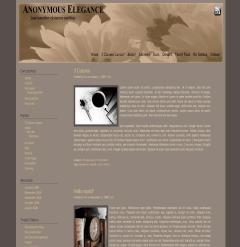 Anonymous Elegance free wordpress theme