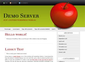 AppleX free wordpress theme