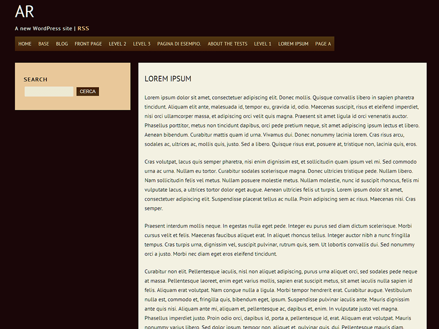 ar theme wordpress gratuit