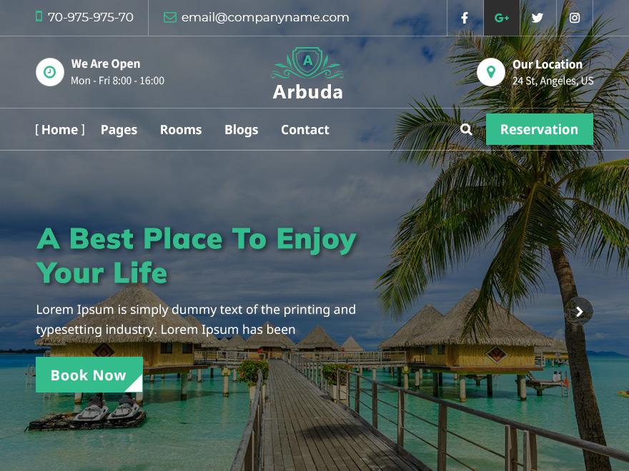 WordPress主题:Arbuda