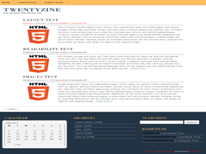 Art Blogazine free wordpress theme
