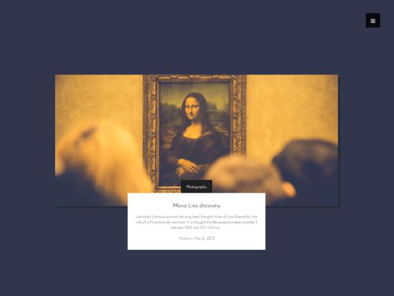 wordpress art theme