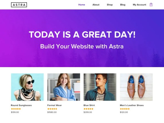 Astra best free themes for business