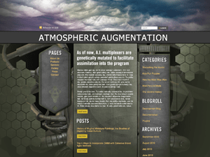 Atmospheric Augmentation wordpress theme
