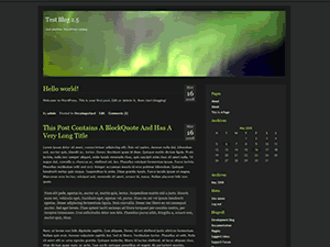 Aurora free wordpress theme