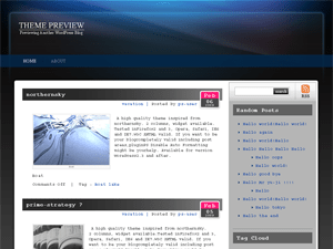 Auroral Theme free wordpress theme