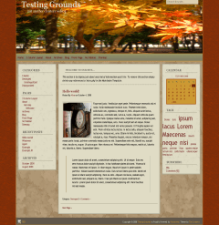 Autumn Almanac free wordpress theme