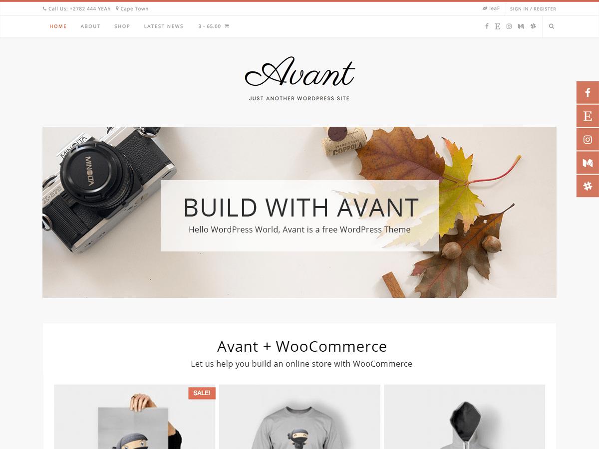 Avant WordPress Theme