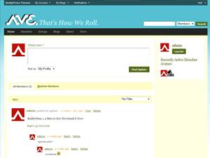 Avenue K9 (BuddyPress BuddyPack) wordpress theme