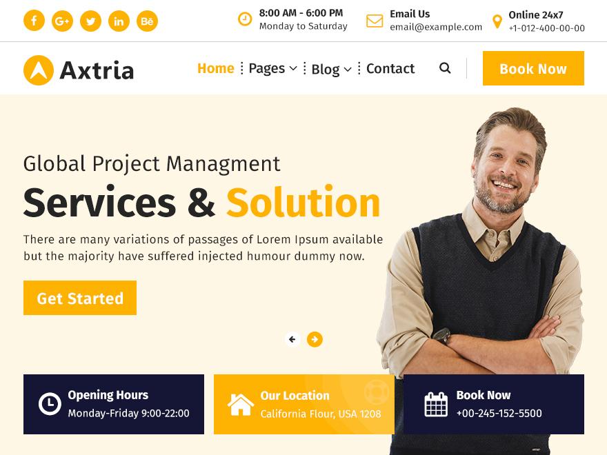 Axtria - Best AdSense Optimized WordPress Themes
