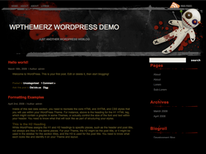 Bad Mojo free wordpress theme