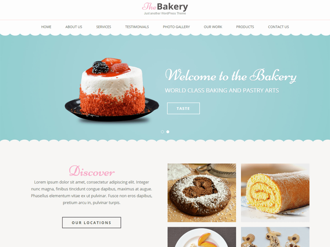 Bakes And Cakes | WordPress.org