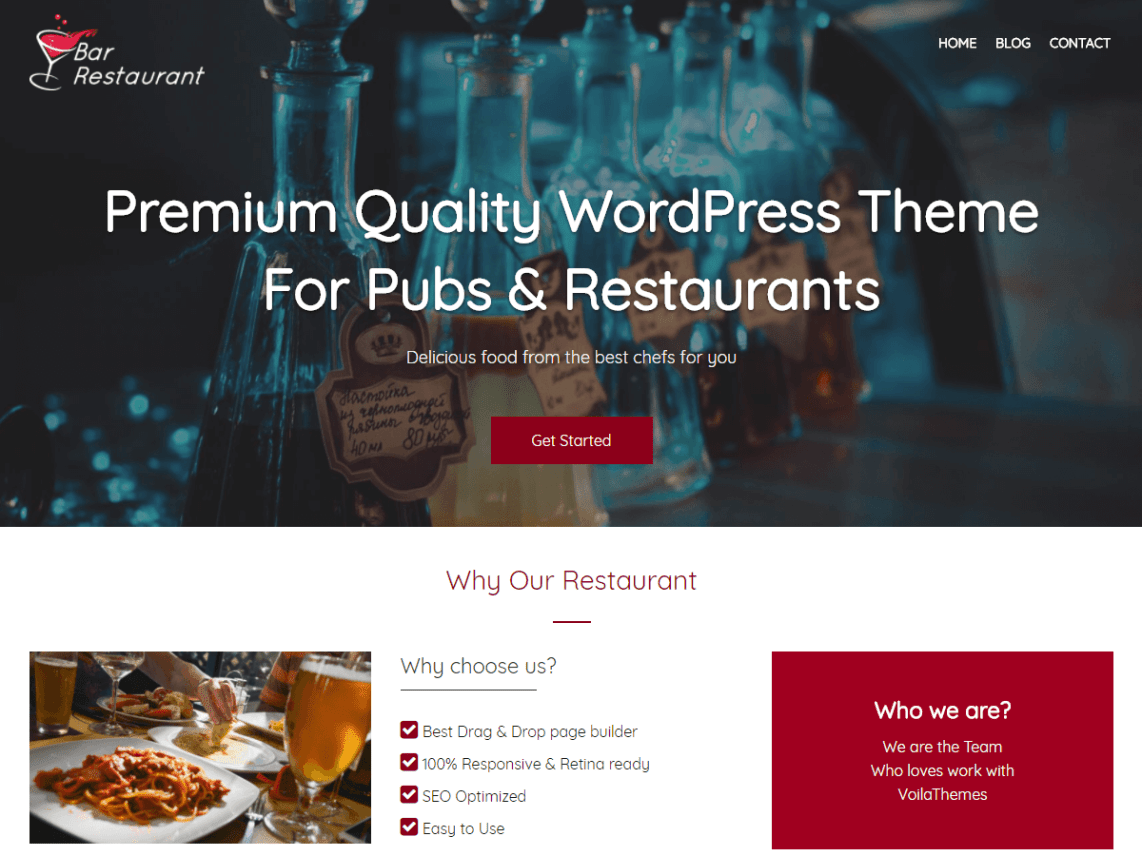 Bar Restaurant | WordPress.org