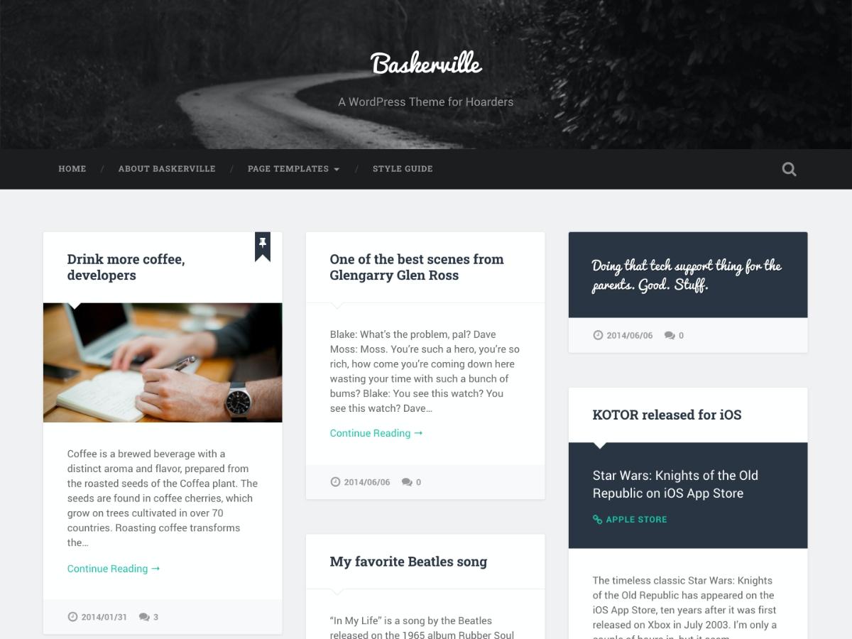 Wordpress layouts free