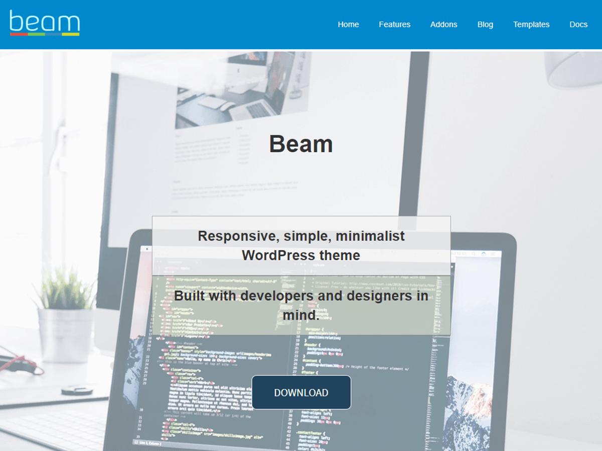 WordPress主题:Beam