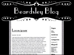 Beardsley free wordpress theme