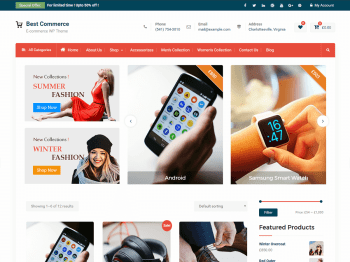 Best Commerce child theme