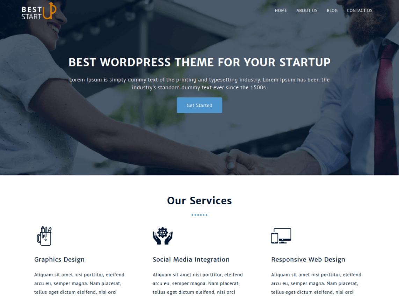best startup wordpress org