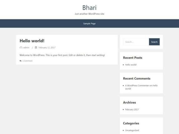 Bhari | WordPress.org