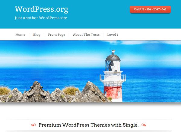 Black Rider theme wordpress gratuit