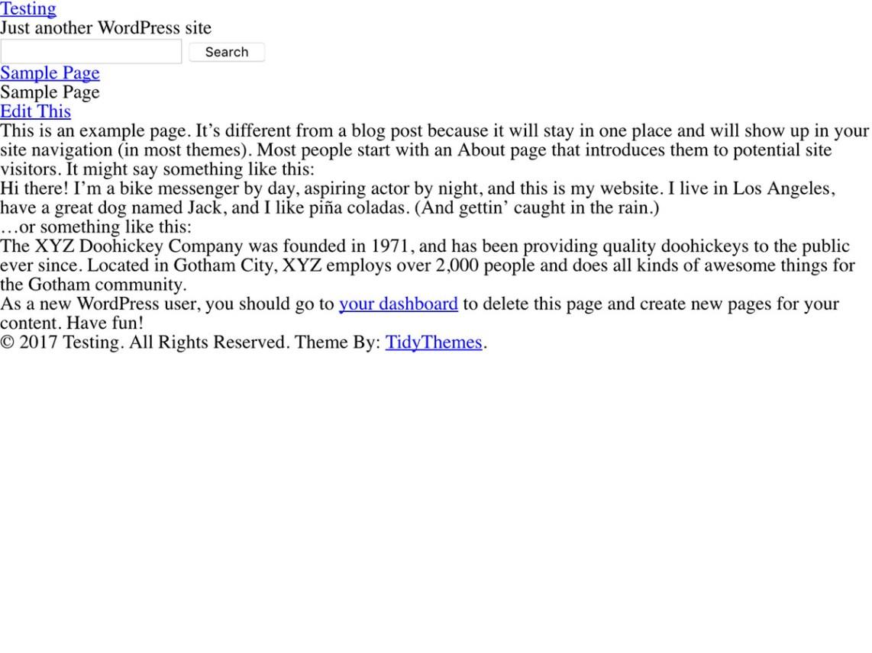 BlankSlate | WordPress.org