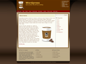 Blend free wordpress theme