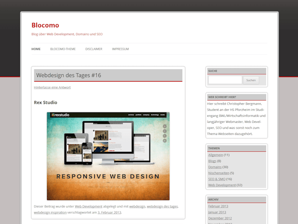 Blocomo free wordpress theme