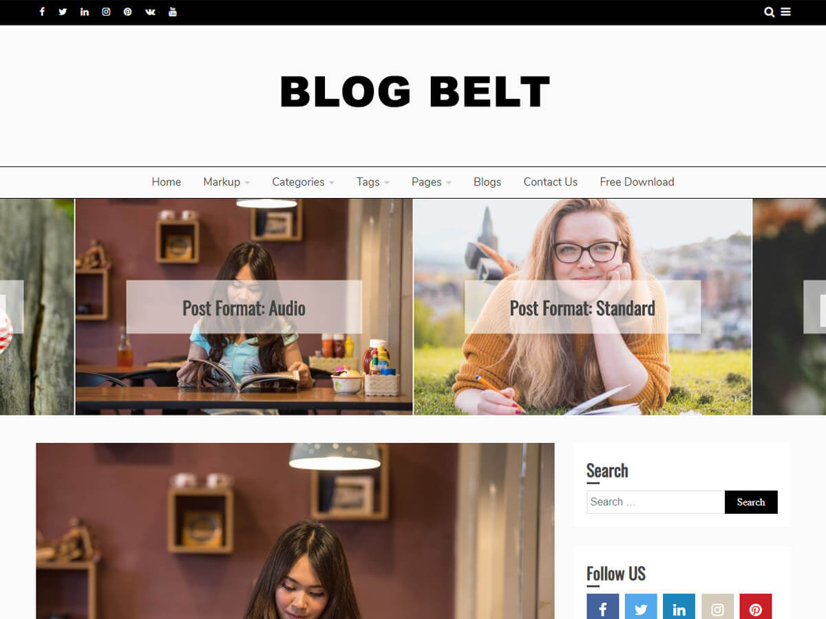 Blog Belt - WordPress theme | WordPress.org Qaraqalpaq tili