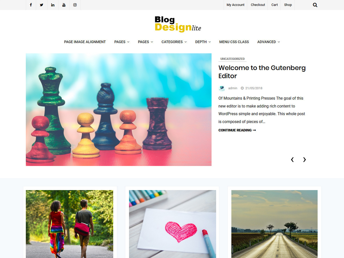 Blog Design Lite