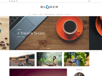 Bloger child theme
