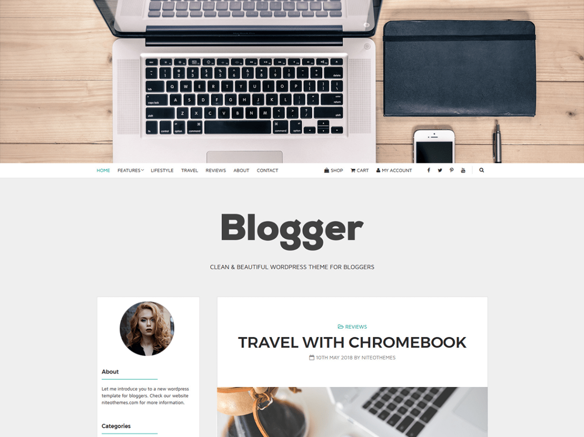 Blogger Light Theme Free Download