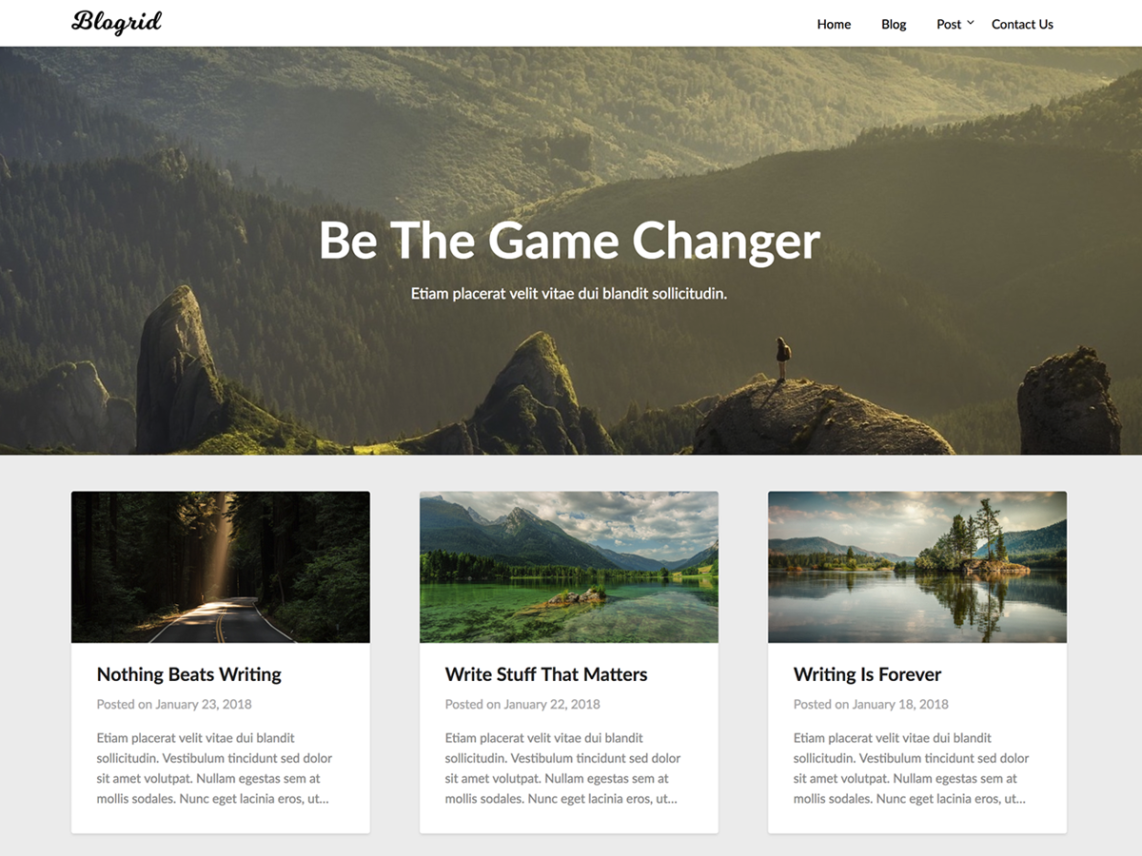 Blogrid By Theme Everest