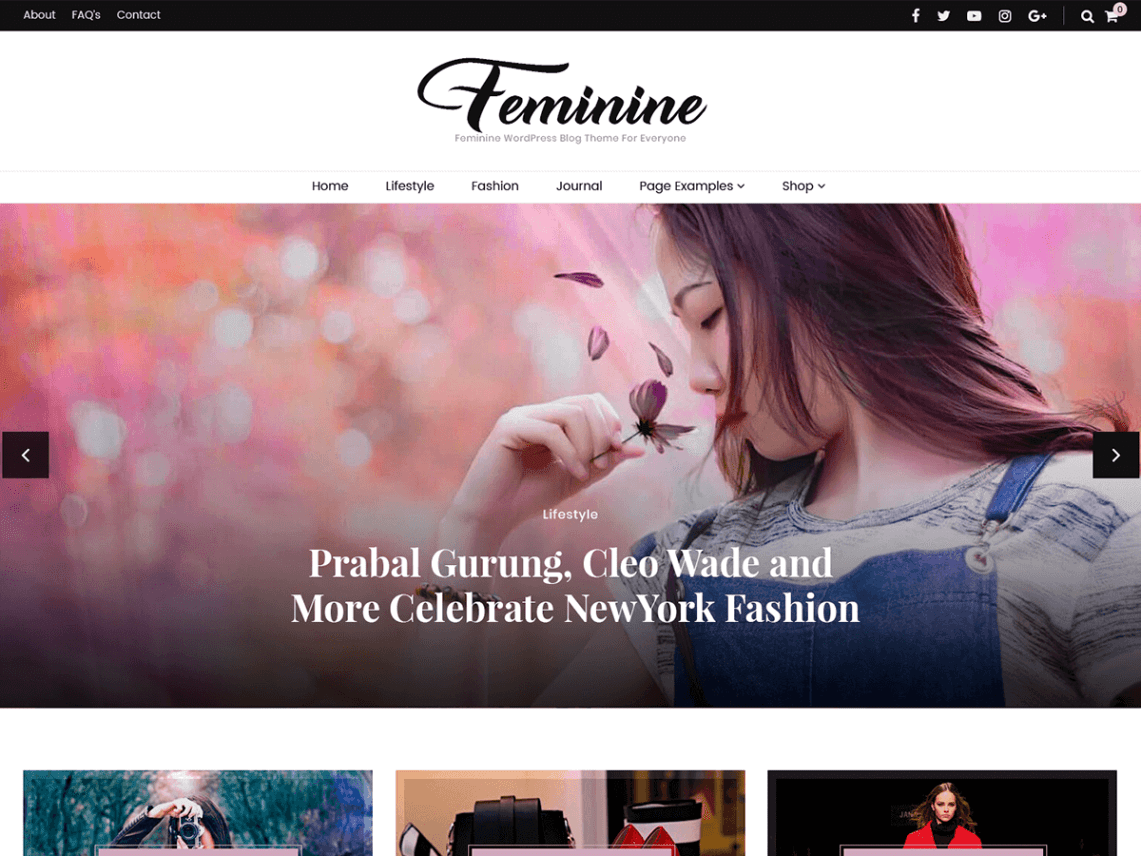 Blossom Feminine - WordPress theme | WordPress org