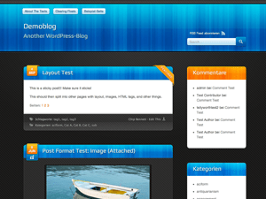 Bloxy Two free wordpress theme