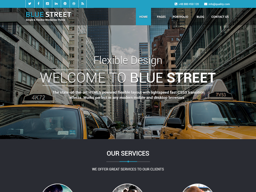 Bluestreet | WordPress.org