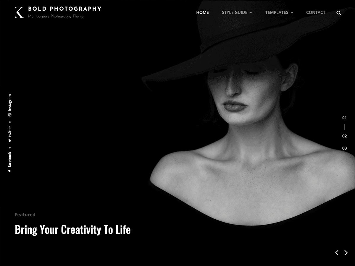 Bold Photography - Θέμα εμφάνισης WordPress   WordPress.org Ελληνικά