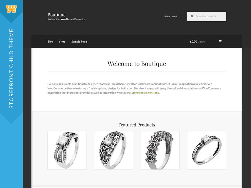 Boutique | WordPress.org