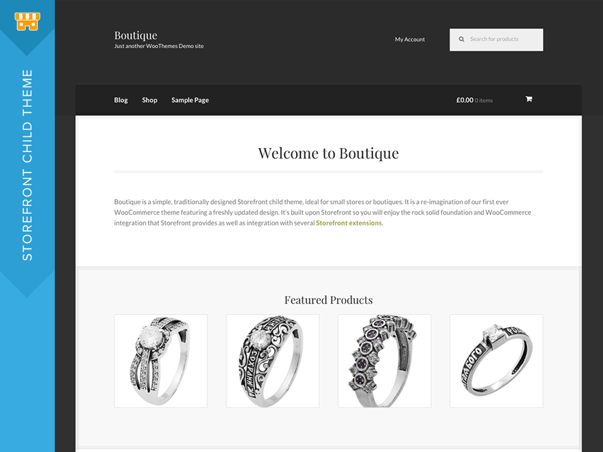 Boutique Wordpress Theme Wordpress Org