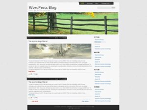 Breezing free wordpress theme