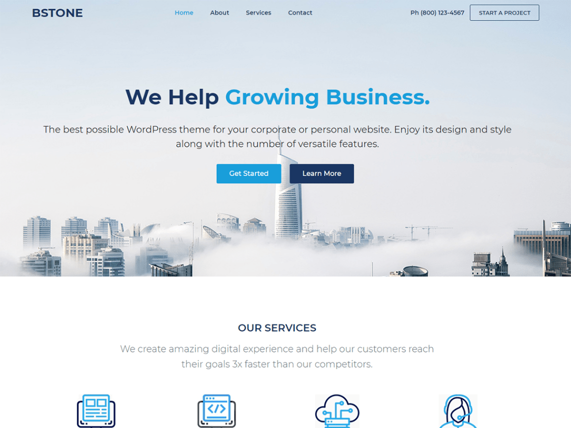 Bstone Theme Free Download