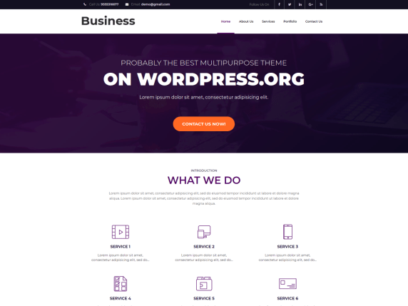 Business Booster | WordPress.org