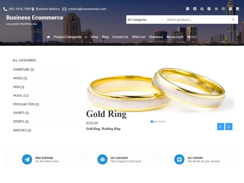 BusinessEcommerce-free-WordPress-theme-for-eCommerce-CodePixelz