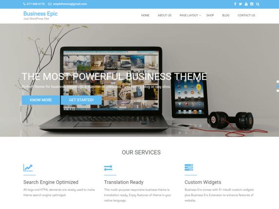 Business Epic | WordPress.org
