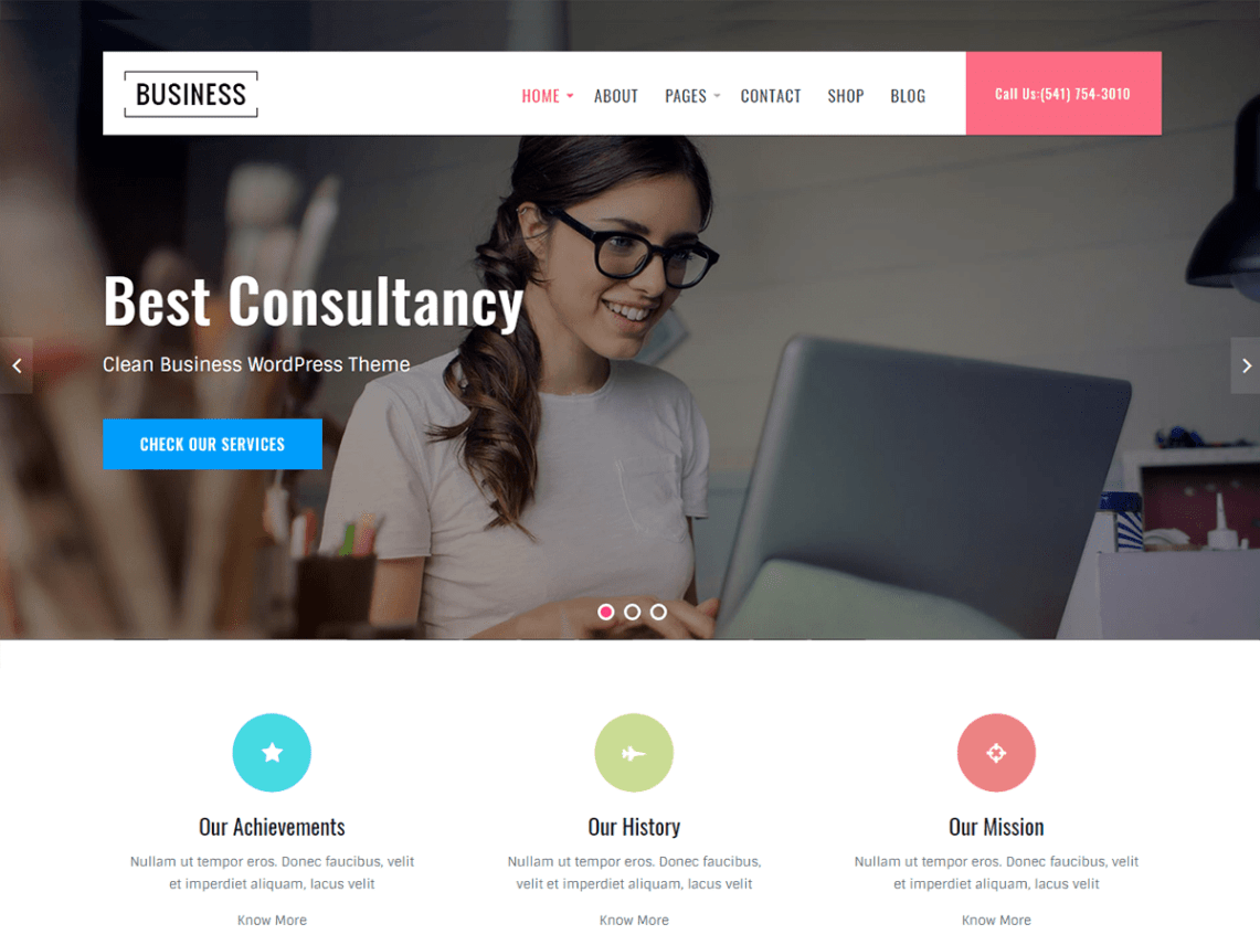 Business Key Theme Free Download