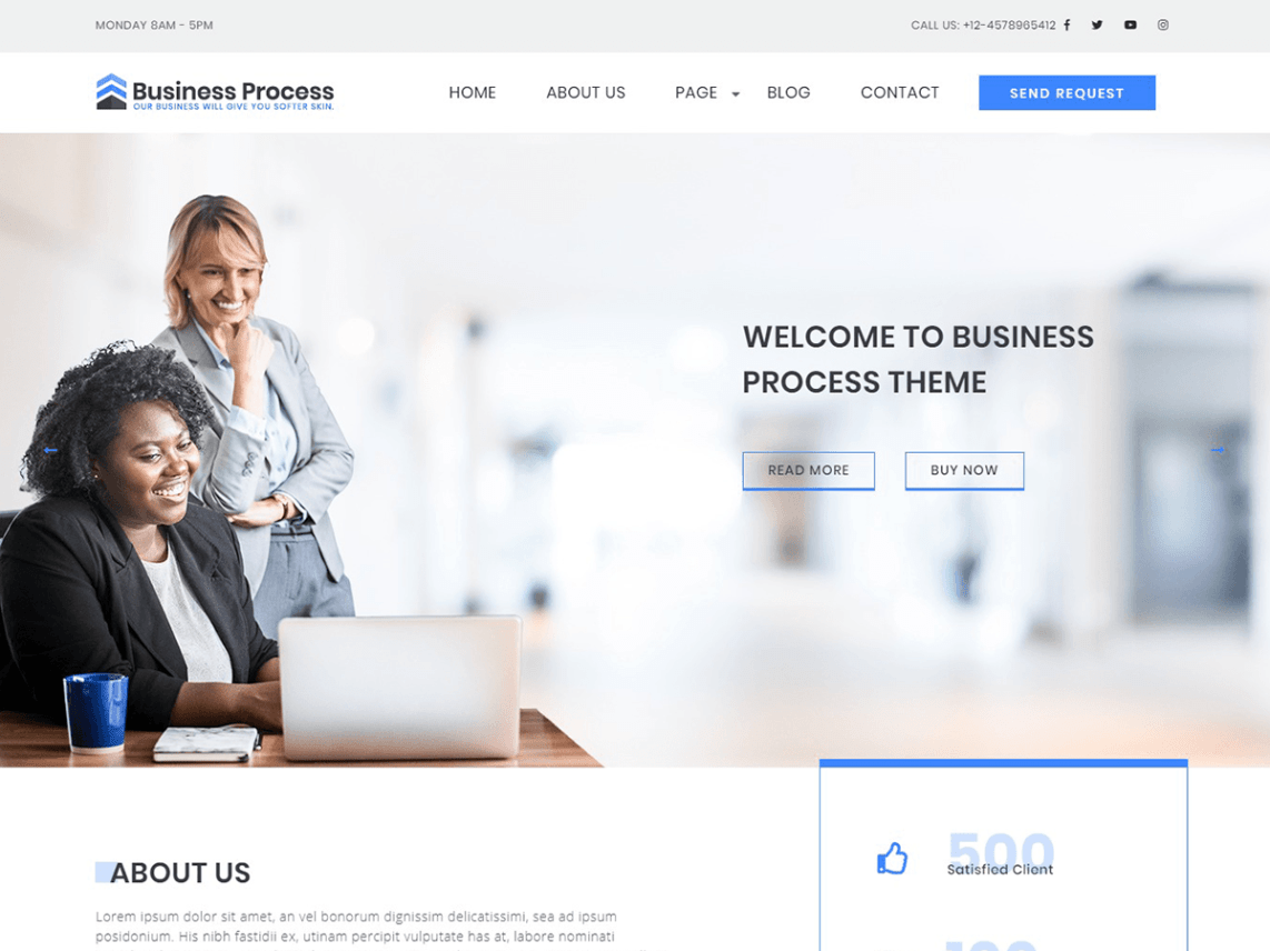 Business Process Theme Free Download