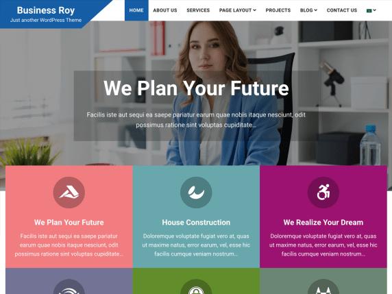 BusinessRoy-best-free-responsive-freelancer-WordPress-themes-CodeThemes