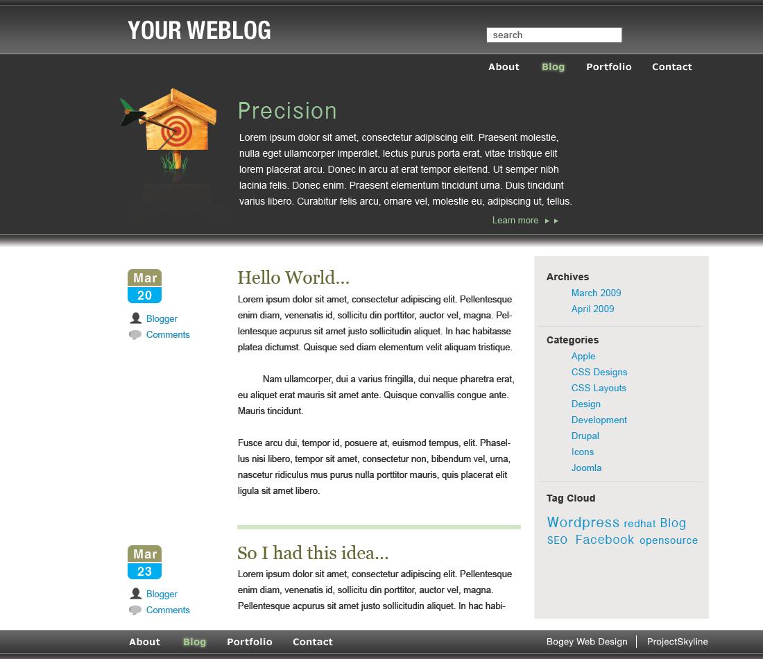 Bwd 2 — Free WordPress Themes