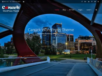 Canuck child theme