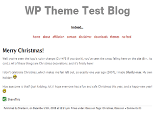 Capricorn free wordpress theme